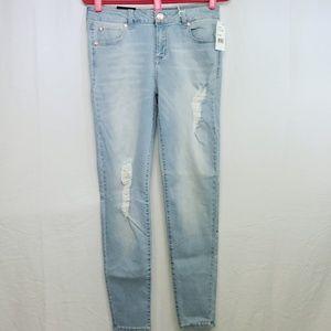 Celebrity Pink Jeans Sz 11/30 Stone Wash Blue